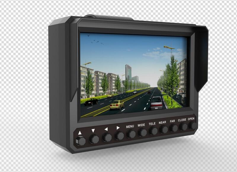 NEW 4 3 Inch 4 In 1 HD CCTV Tester Monitor Analog CVBS TVI CVI AHD