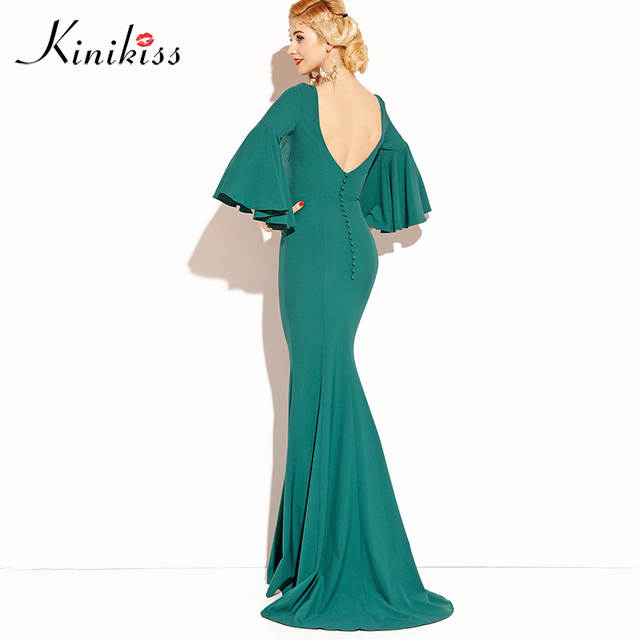 8d8231ae1d8f6 US $30.63 |Kinikiss Sexy Women Club Maxi Dress trumpet Bandage Long Dress  Party Multiway Bridesmaid Convertible Robe Longue Femme 2018-in Dresses  from ...