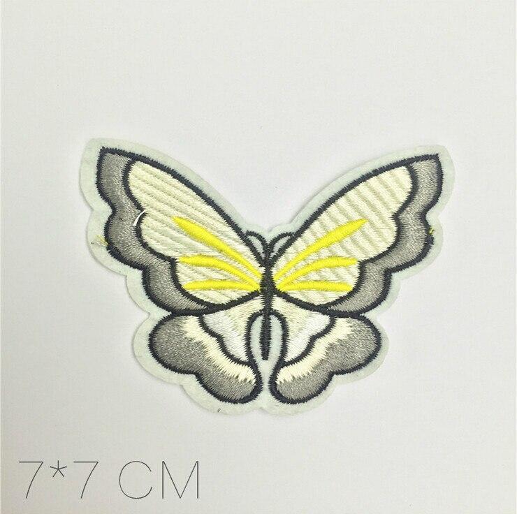 ୧ʕ ʔ୨# KG889-2 10 STÜCKE/1 LOS Bestickte (Schmetterling) Nähen Auf ...