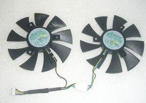 Новинка для Zotac GTX1070 MINI ZT-P10700K-10M для MSI GTX1060 для Apistek GA91S2H 40 мм 85 мм дисплей видеокарта охлаждающий вентилятор