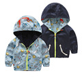 Full Length Shark Boys Outerwear & Coats Warm Both Side Wear Children Jackets For Kids Thick Autumn Winter Boys Jackets Hooded