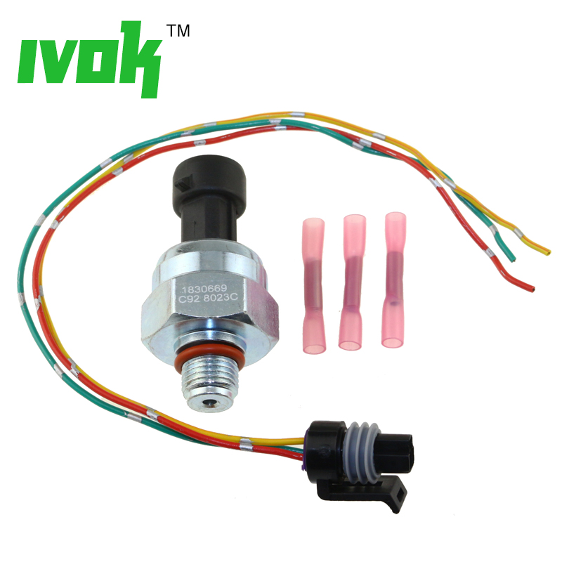 Injection Control Pressure ICP Sensor DT466E I530E HT530 DT466 With Pigtail Kit
