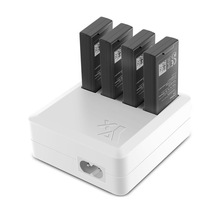 цена на 4-in-1 Multi Battery Charger Hub RC Intelligent Quick Charging for DJI Tello Drone GY88