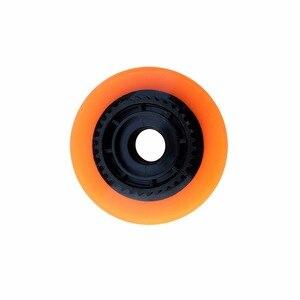 Image 3 - Roues de Skateboard électrique de 90mm, 1 pièce, roues en polyuréthane avec engrenage, roues de planche à roulettes Longboard, dureté SHR83A 90x52, rebond élevé