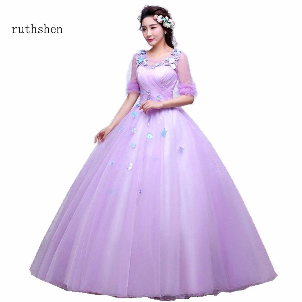 ruthshen Stunning Vestidos Quinceanera Dresses Warming Pink Color ...