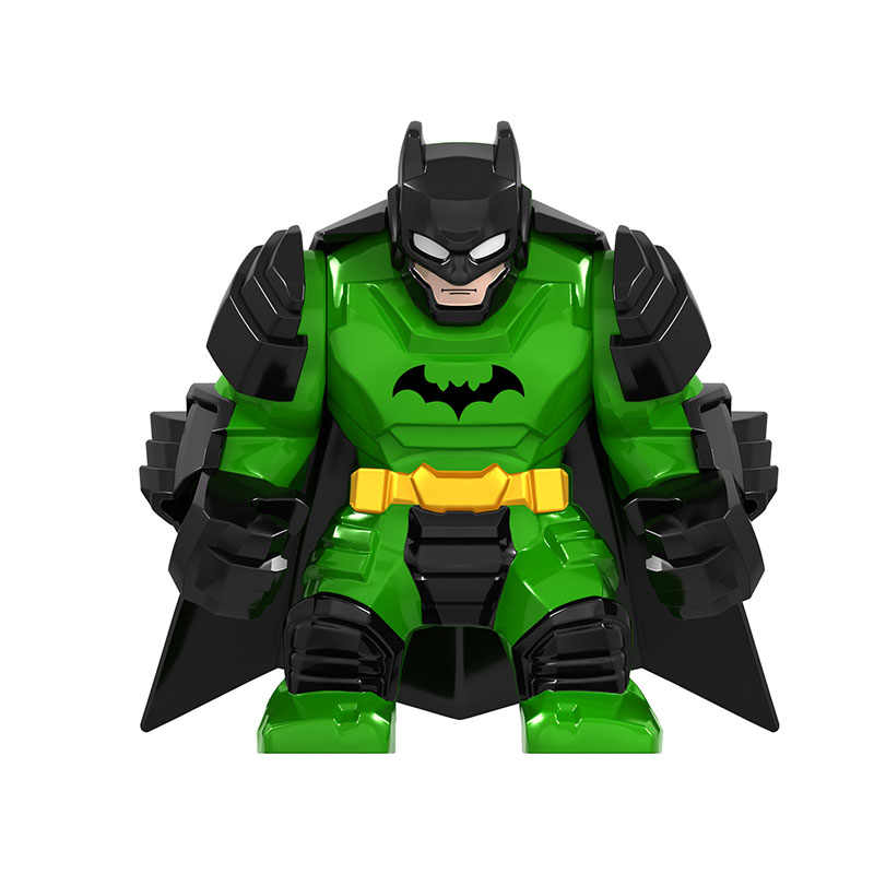 2019 Marvel Avengers Endgame Super Heroes Green Batman Mech Spiderman DIY Figures Building Blocks Bricks Toys For Kids Gifts