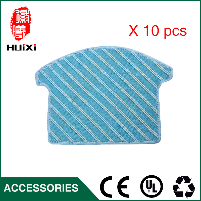 10pcs Vacuum Cleaner Cleaning Cloth Washbale High-efficiency for Clean House for CEN531 CEN630 Robot Vacuum Cleaner Accessories 1 pc hot sale high efficiency cheap cleaner vacuum robot vacuum cleaner for household floor cleaning machine