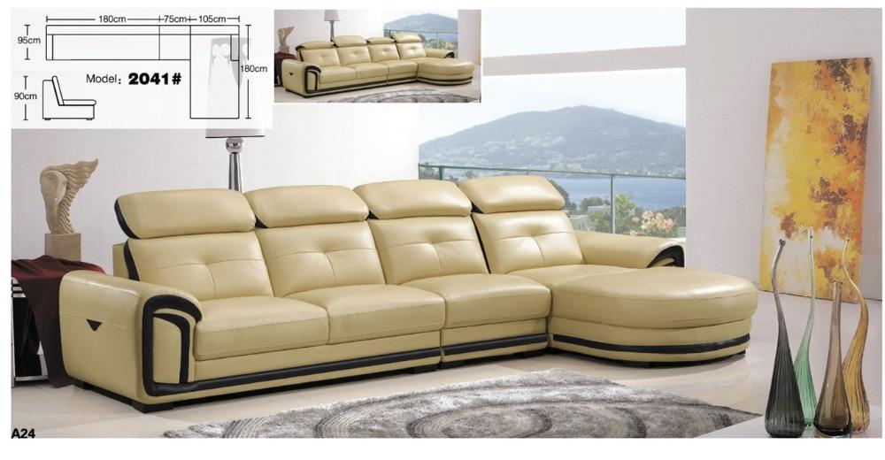 alta qualità divano ad angolo moderno-acquista a basso prezzo ... - Pelle Dangolo Divano Minimalista