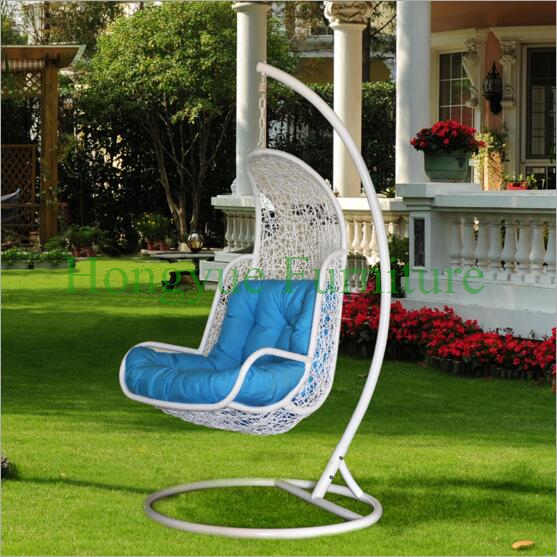 Patio Rattan Hammock Swings Furniture With Cushions(China (Mainland))