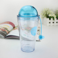 New Plastic Water Lemon Filter Bottle Portable Bottles For Sport Outdoor Bicycle Tritan Water Cup With