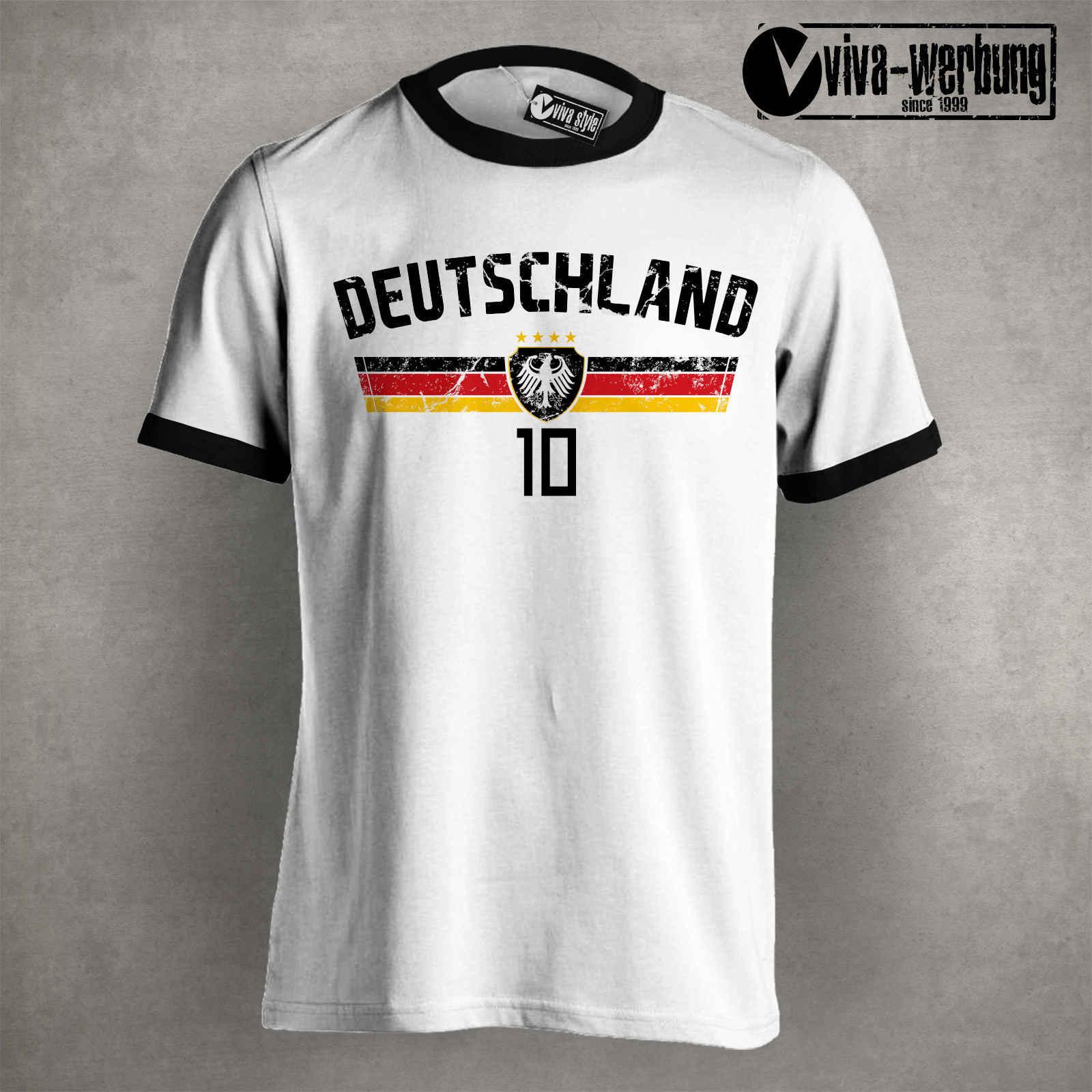Новинка 2020, модная летняя хлопковая футболка с короткими рукавами, Футболка Deutschland, футболка 2020, футболист, Германия, Трикот, Fanst, футболки для мужчин