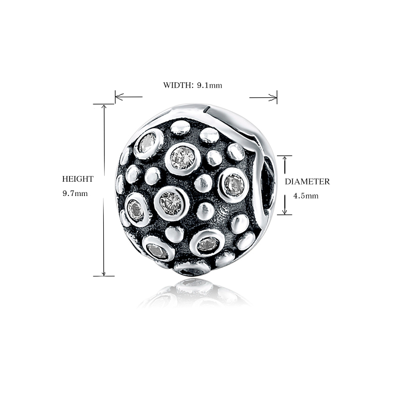 925 zilveren charme clip Fit originele Europese Charms armband met - Mode-sieraden - Foto 6