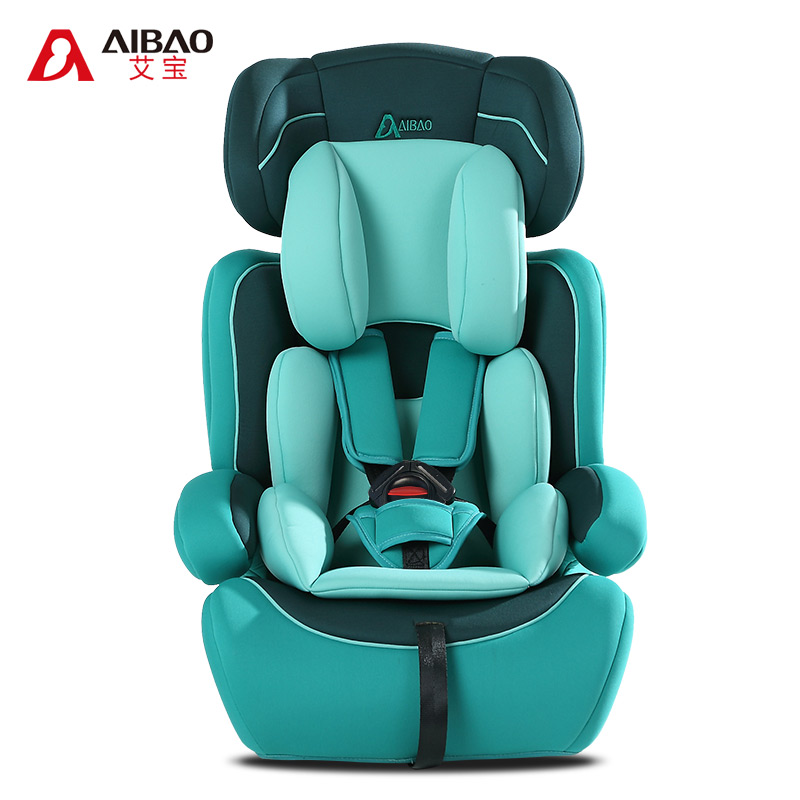 aibao fashion high quality child carseat baby car safety seat auto chair for 9 months 12 years old kids