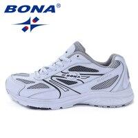 Buena nuevo estilo clásico mujeres corriendo zapatos transpirable caminar al aire libre zapatos deportivos Jogging cómodas señoras zapatillas de deporte