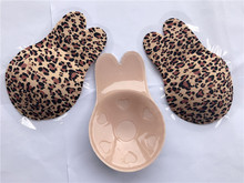 1 Pair Silicone Leopard Floral Nipple Cover Lift Invisible Breast Petals Adhesive Bra Reusable Nipple Covers for Women цены