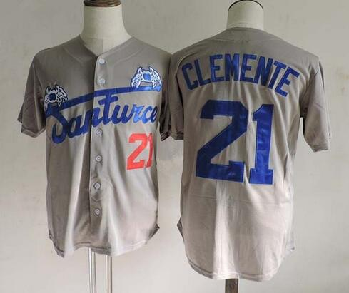 new style 49e9a a1d82 21 roberto clemente jersey for sale