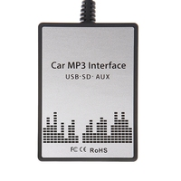 New USB Sd Aux Car MP3 Adapter CD Change For Suzuki Aerio, Grand Vitara, Ignis, Jimny II, Liana, Splash, Swift, SX4, Wagen R+, X