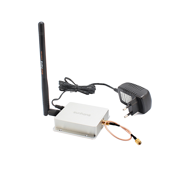 Sunhans SH24Gi4000 WiFi Signal Booster 4000mW 2.4Ghz 36dBm Repeater Amplifier