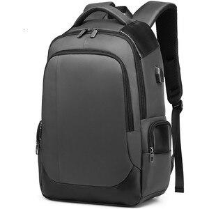 Image 4 - 2019 nouvelle marque supérieure bagage à main 15.6 pouces hommes femmes sac lycée USB chargeur Port affaires voyage sacs à dos dordinateur portable cadeau