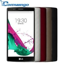 Original LG G4 H815T H810 Mobile Phone 5.5 inch 2560*1440 px snapdragon 808 3GB RAM 32GB ROM 8MP 16MP Camera 4G LTE CellPhone