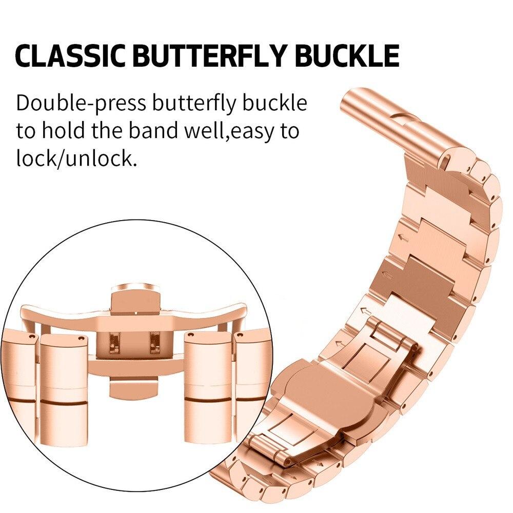 Montre Smart Watch Rapide Libération Facile Fit Bracelet En Acier Inoxydable Bracelet Pour Garmin Fenix 3/3HR/5X/ MK1 july11