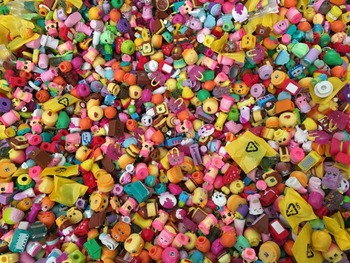 1000Pcs/lot DHL Wholesale Miniature Shopping Fruit Dolls Action Figures for Family Kid's Christmas Gift Play Toys Mixed Seasons