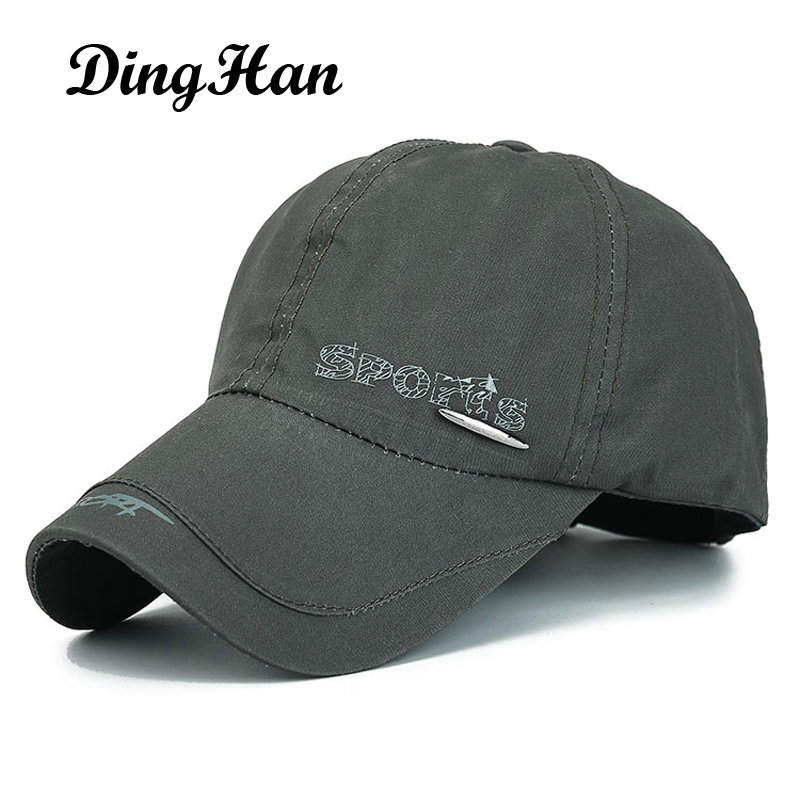 [DingHan] Brand Baseball Cap Men And Women Outdoor Snapback Hat Gorra Polo Sports Summer Cap Casual Cotton Sun Hat Travel Touca 2017 new hot brand cotton men hat baseball cap casual outdoor sports unisex snapback hats cap for men women