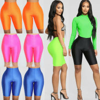 New Style Women's Yoga Solid Shorts Casual Stretch Bike Sports Workout Pants High Waist Clubwear Sheath Leggings Fashion Hot