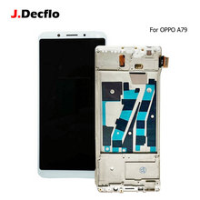 For OPPO A79 LCD Display + Touch Screen With Frame Digitizer Assembly Replacement 100% Tested 2160*1080 6.0 inch Incell