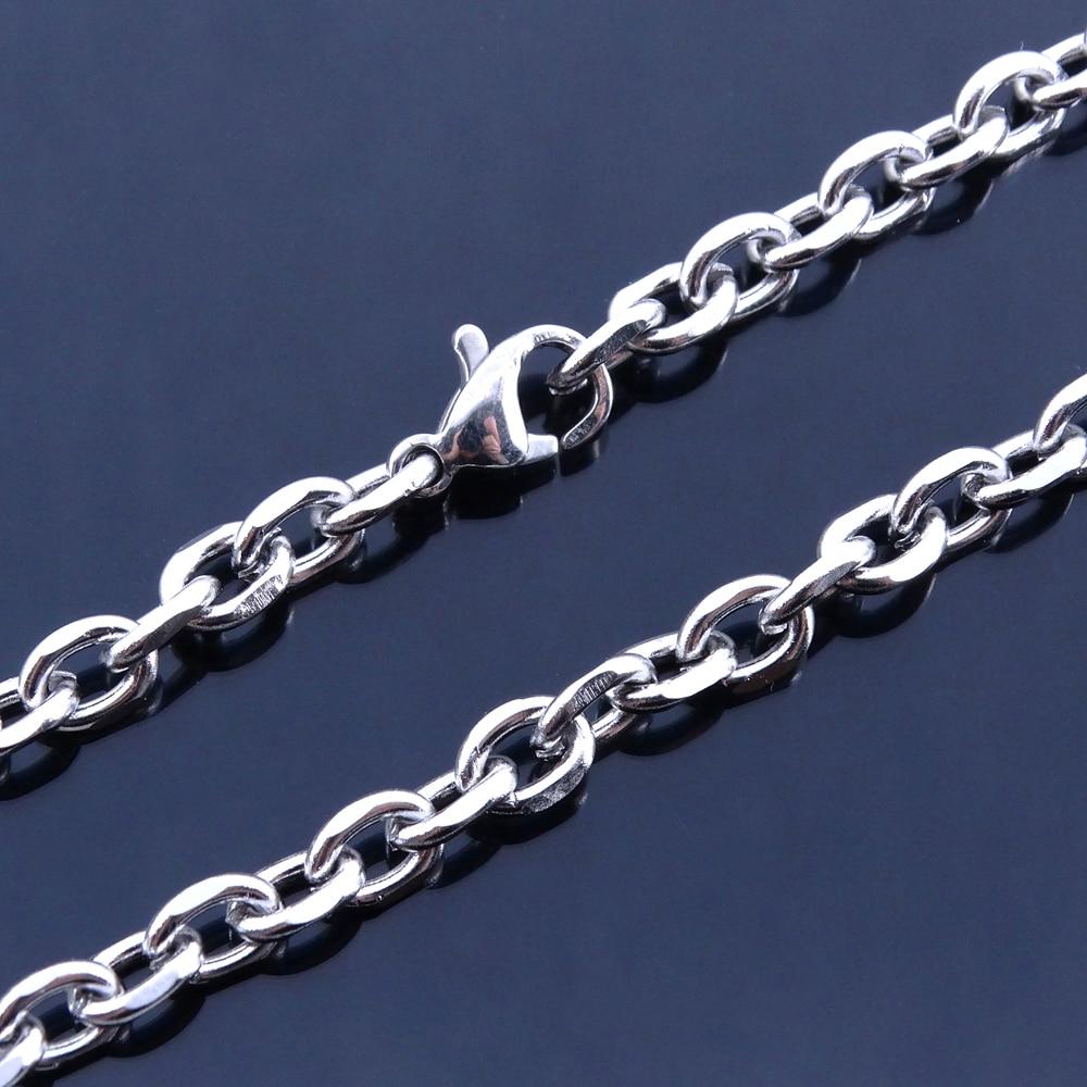Для женщин браслеты на ногу Нержавеющая сталь Сандалеты с перепонкой на лодыжке дизайн О-образная цепь 9/10/11 дюймов Винтаж Модные украшения предложение от производителя