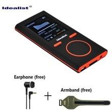 Idealist HIFI mp3 mp4 player Mini Game mp4 4g Outdoor Sport MP3 Radio Music mp4 Slim Game Player Recorder E-Book Reading Walkman