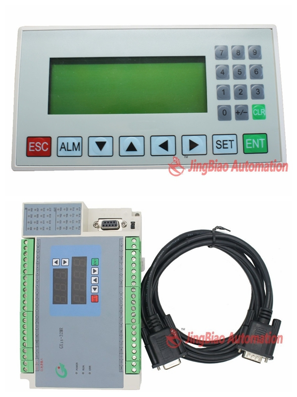 цена на display screen HIM MD204L OP320-A + 32MR 16 ports input 16 ports relays output PLC