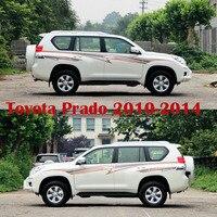 3M Car Body Sticker For Toyota Land Cruiser Prado FJ 150 Accessories 2010+