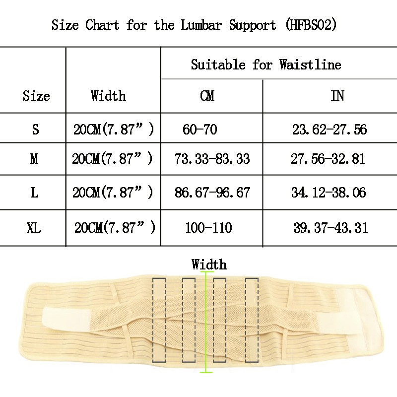 Lumbar-Support-Belt-Back-Braces-Four-Steels-Breathable-Waist-Treatment-of-Lumbar-Disc-Herniation-Lumber-Muscle