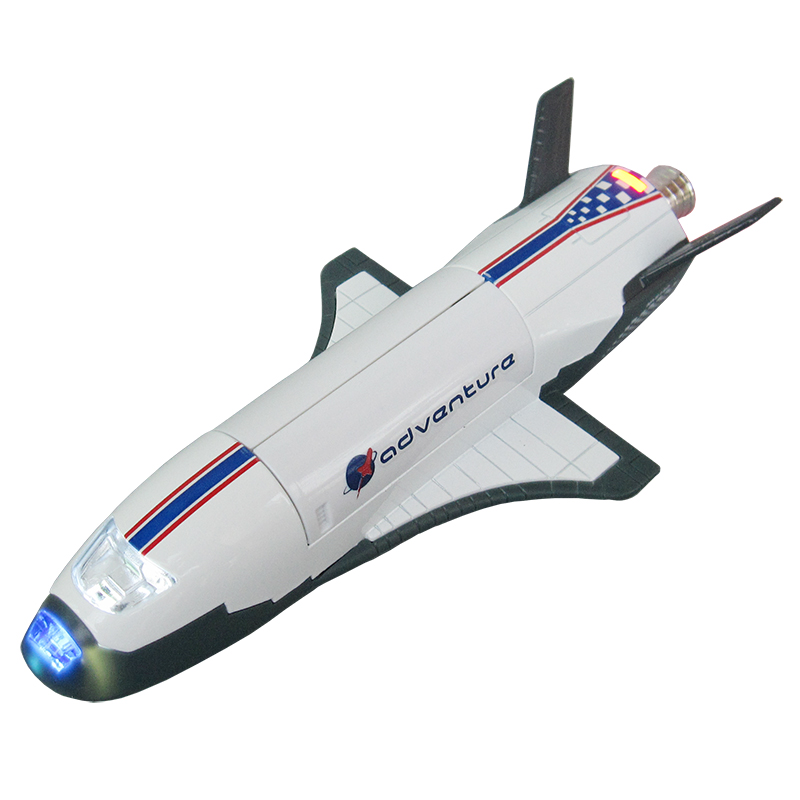 Alloy US Boeing X-37 Verification Machine Sound and Light  Air Space Fighter Alloy Children's Toy Helicopter Gifts Model Toys