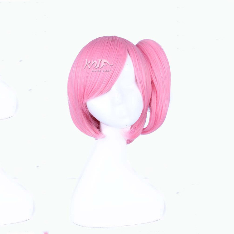 New arrival Shugo Chara! hair accessories 230g 30cm synthetic hair jewelry for Hinamori Amu cosplay wigs peach pit shugo chara 4