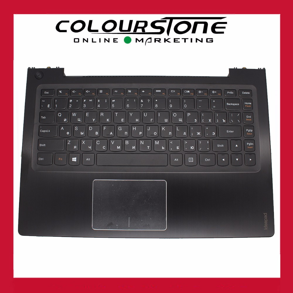New RUSSIA Black laptop keyboard for LENOVO U430 U430P U330 U330P  With black cover C keyboard new original orange for lenovo u330 u330p u330t touch bottom lower case base cover lz5 grey 90203121