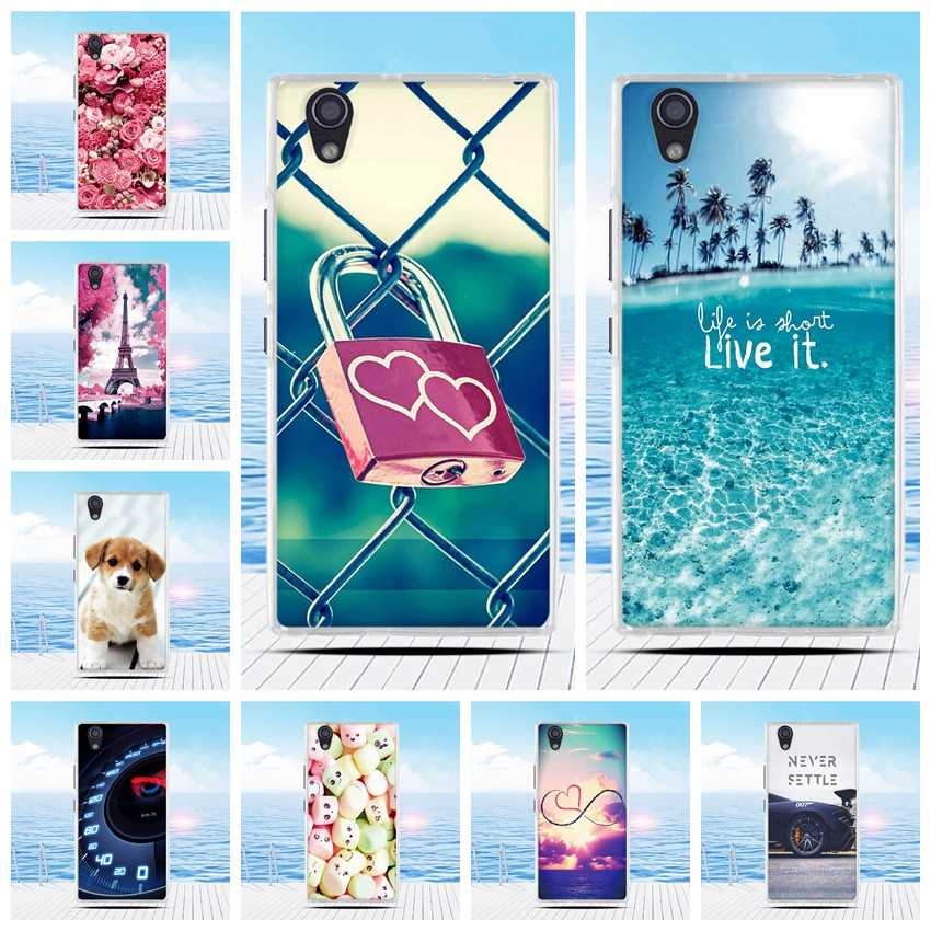 For Lenovo P70 P70T Case Cartoon 3D Relief Printing Pattern Back Cover TPU Soft Silicone Case