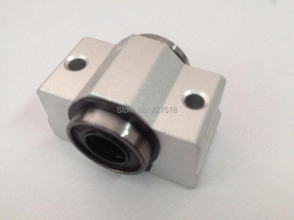 4pcs SCV16 SCV16UU SC16VUU Linear Ball Bearing Pellow Bolck With LM16UU For CNC