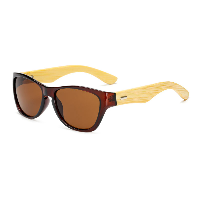 07daf29665 Original Wooden Bamboo Sunglasses Men Women Mirrored UV400 Sun Glasses Real Wood  Shades Gold Blue Outdoor Goggles Sunglases Male-in Sunglasses from Apparel  ...