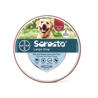 Lagre Size And Small Size Bayer Seresto Flea And Tick 8 Months Collar For Dogs Up To 18lbs 8kg Products For Cats Pets