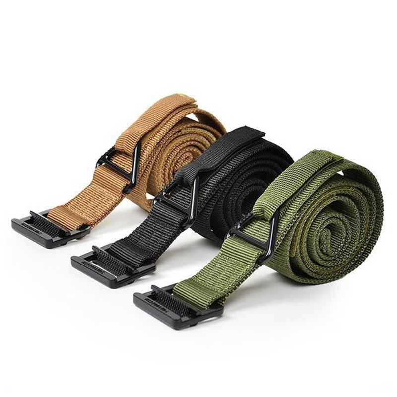 Military Equipment Blackhawk Tactical Belt Men Casual Combat Nylon Military  Belts Adjust Hunt lucci belt belts for women c3bf518858