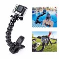 Gopro Accessories Jaws Flex Clamp Mount+Adjustable Gooseneck for GoPro Hero 4 3+ 3 2 1 Free Shipping