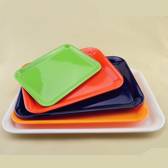 Hotel Restaurant Rectangle Colors Plastic Plates Four Sizes Available Plastic Bread Glass Plates & Hotel Restaurant Rectangle Colors Plastic Plates Four Sizes ...