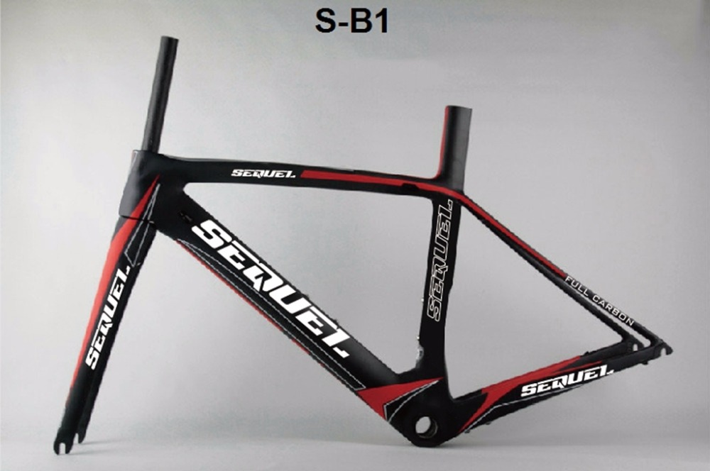 SEQUEL Road Bike Carbon Frame Raw Frame Toray T800 Carbon Road Bike BSA/BB30 Di2 And Mechanical Both  Bike CarbonoDIY