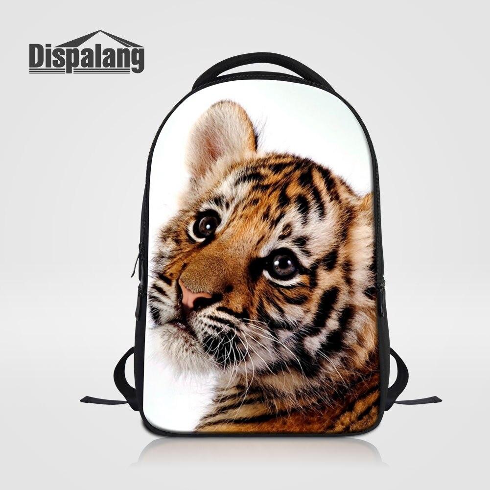 Animaux perroquet licorne chat tigre serpent imprimé sacs d'école pour adolescents hommes voyage épaule sac à dos pour ordinateur portable femmes grand sac à dos