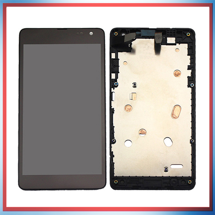 5.0'' For Microsoft Nokia Lumia 535 N535 CT2S1973 CT2C1607 Lcd Display With Touch Screen Digitizer Panel Assembly Complete Frame