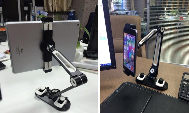 Universal Tablet Car Holder Aluminum Alloy Arm Ergonomic