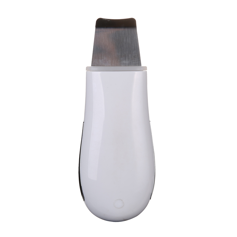 Купить с кэшбэком Rechargeable Ultrasonic Face Skin Scrubber Facial Cleaner Peeling Vibration Blackhead Removal Exfoliating Pore Cleaner Tools