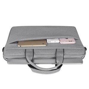 Image 5 - 여자 라이너 슬리브 노트북 가방 케이스 맥북 에어 프로 레티 나 13 14 15.6 인치 노트북 노트북 어깨 스트랩 컴퓨터 핸드 가방